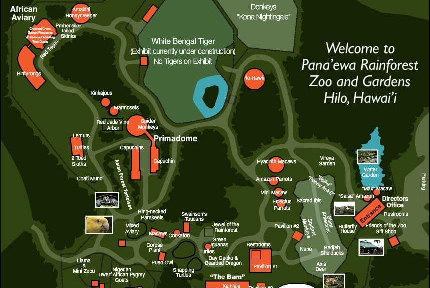 Pana Ewa Rainforest Zoo Hilo Activities Big Island Hawaii