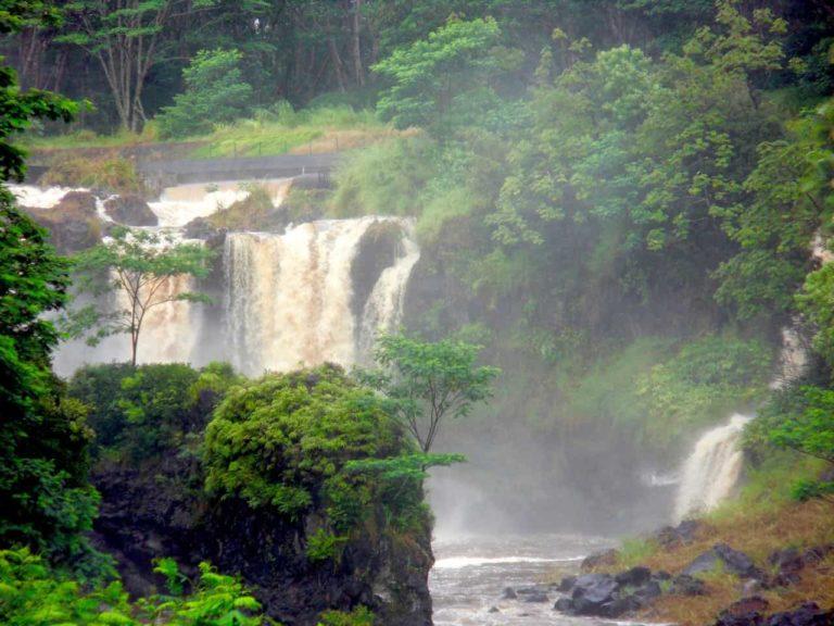 PeePee falls, waterfall, big island, hawaii