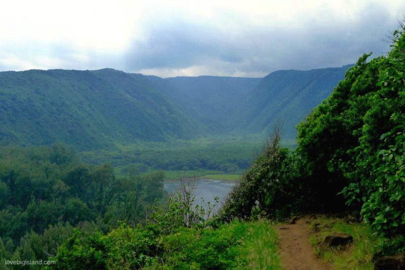 pololu valley, hikeing trail, big island, hawaii, awini trail