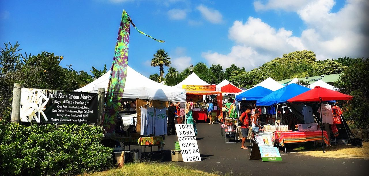 Farmers Markets in and around Kona