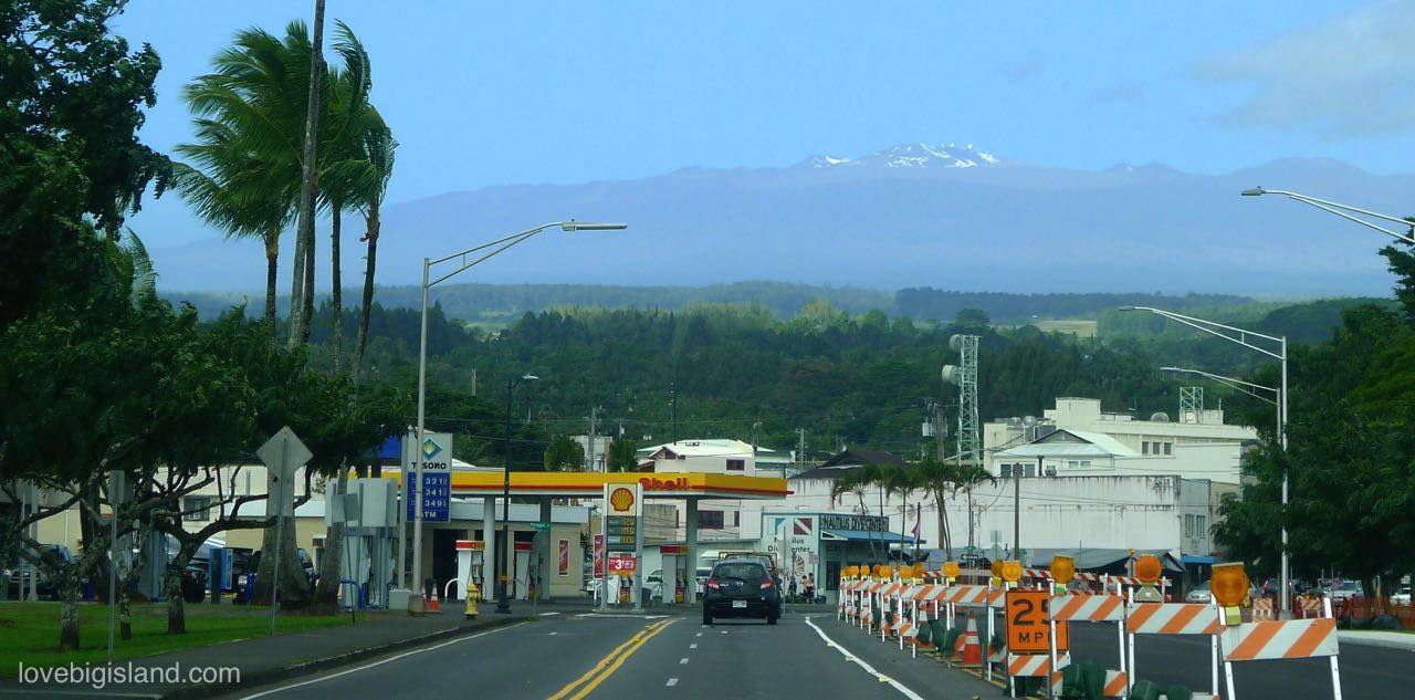 Getting around the Big Island