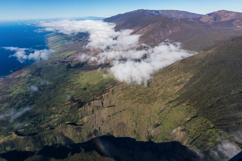 South side of Maui and Haleakala