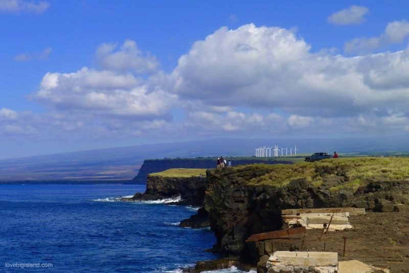 Ka Lae, south point, big island, hawaii