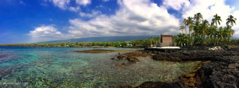 two step, snorkeling, hawaii, Puʻuhonua o Hōnaunau National Historical Park