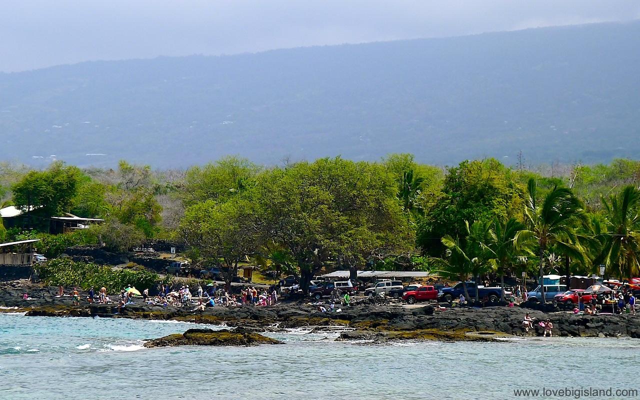 Two step in Honaunau Bay