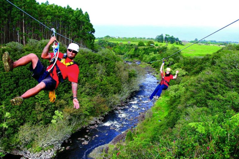 Zipline Tours On The Big Island Activity Guide Hawaii