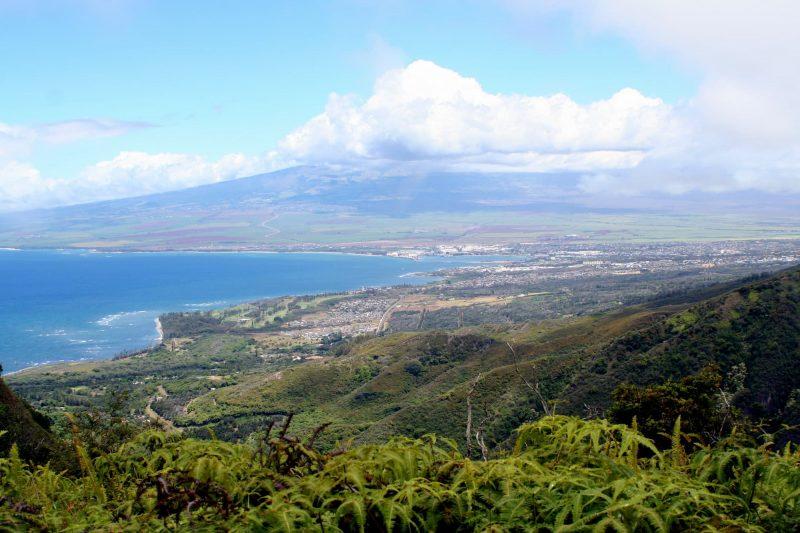 Haleakala from Waihee Ridge Trail