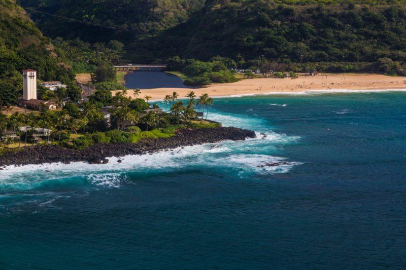 Waimea Beach on Oahu