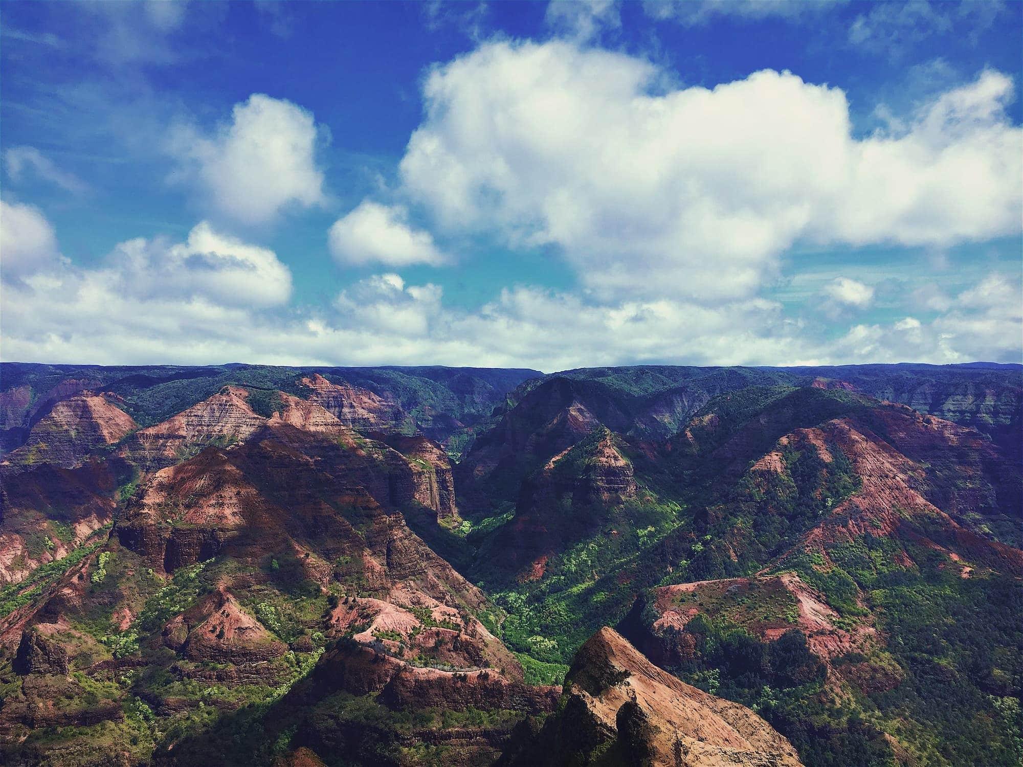 Waimea Canyon and the Kōkeʻe State Park