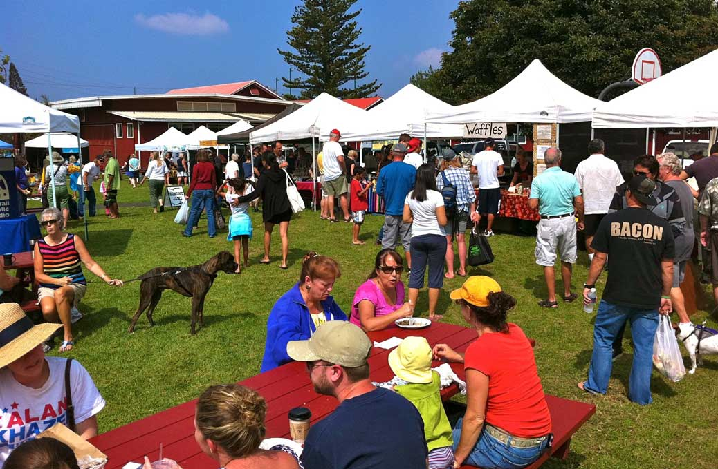 Waimea's 4 Farmers Markets